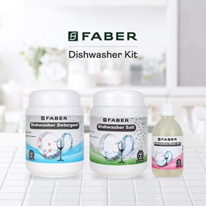 Faber Dishwasher Detergent, Salt & Rinse Aid