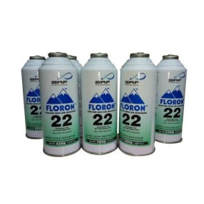 Floron R22 Refrigerant Gas Canister 800gms (pack of 12)