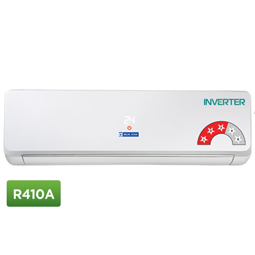 Blue Star 3CNHW12NAFU 1 Ton 3 Star Inverter Split AC R410A Copper