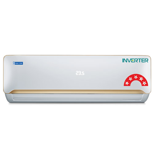Blue Star 5CNHW12QATU 1 Ton 5 Star Inverter Split AC R32 Copper