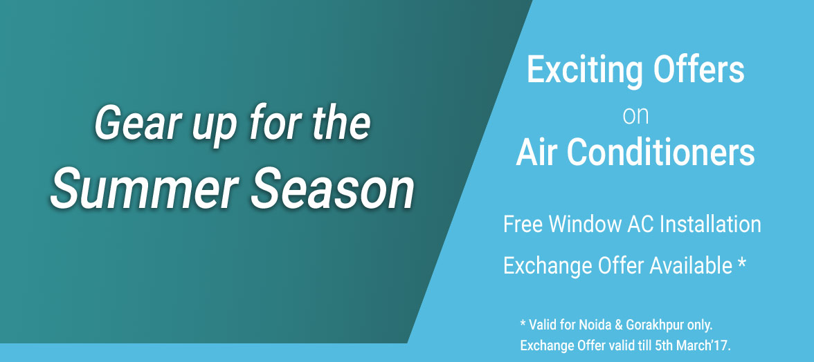Exciting offers on air conditioners from Alda Home Appliances