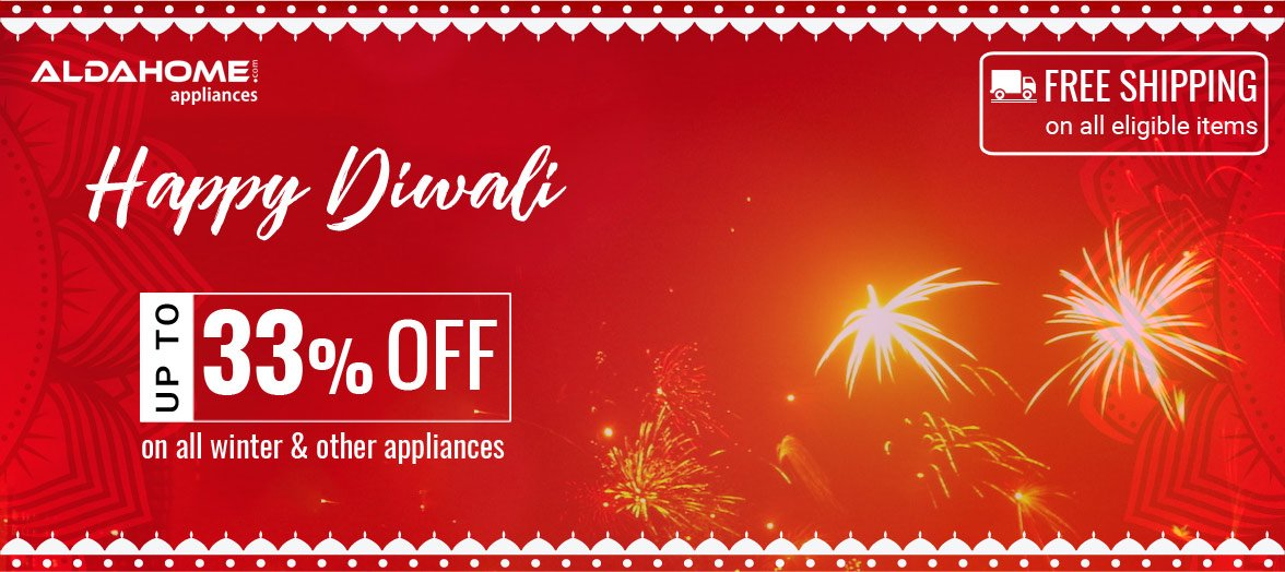 Happy Diwali from Aldahome Appliances