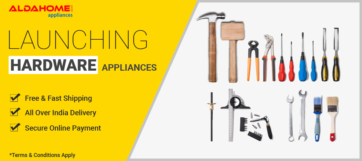 hardware appliances from Aldahome Appliances
